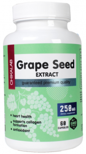 CHIKALAB Grape Seed extract 250 мг (60 кап)